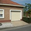 porte de garage sectionnelle ral 1015 à JURBISE.JPG